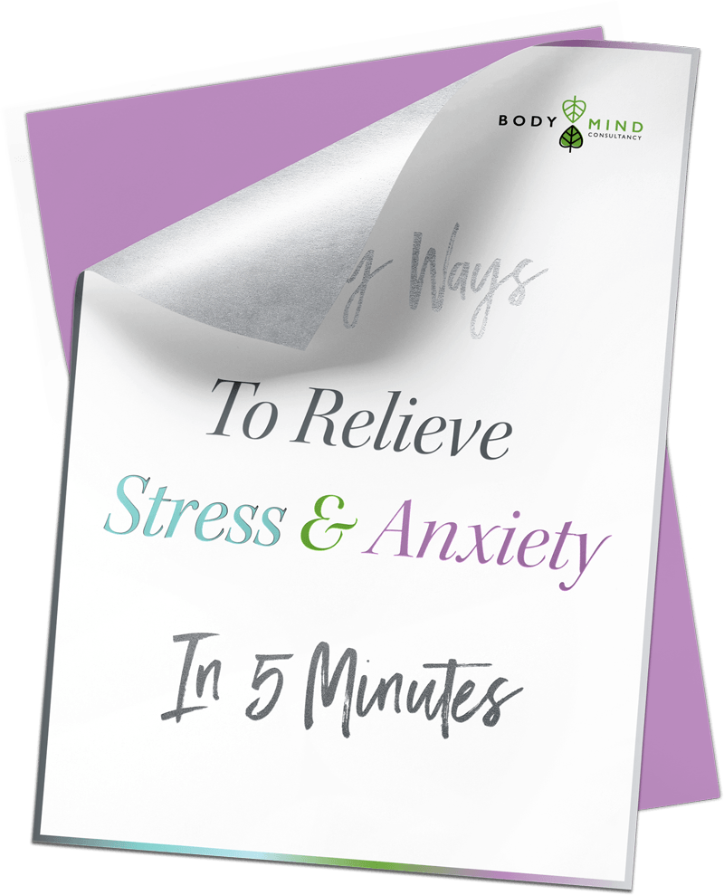 5 ways to relieve stress and anxiety in 5 minutes